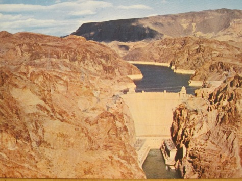 The Hoover dam 1965