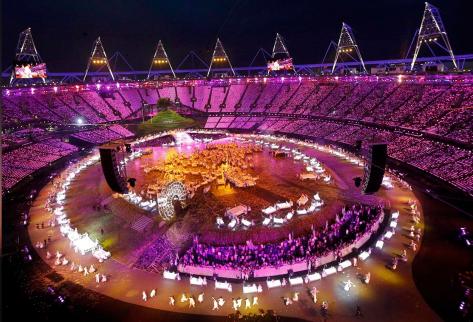 London Olympics opening 2012