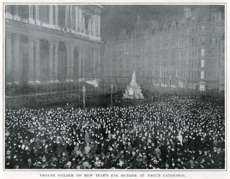 New year 1900 St Pauls