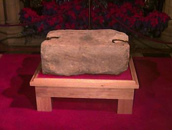 The Stone of Destiny Stone of Scone Liath Fail Picture
