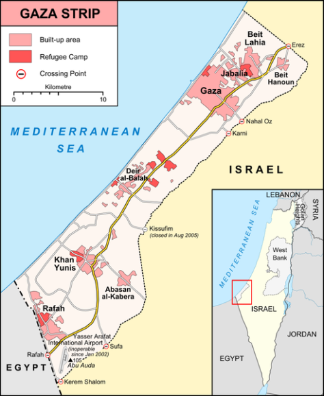 492px-Gaza_Strip_map